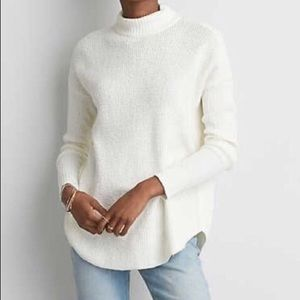 American eagle mock neck knitted sweater